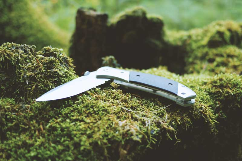 how to keep knives and other tools sharp before, during, and after Camping