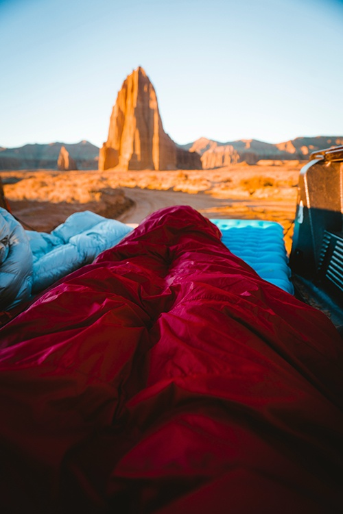 best car camping sleeping bag