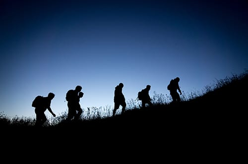 how to prepare for a night hiking