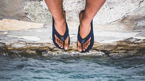 most comfortable mens flip flops